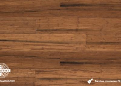 bambus prasowany click antique lakierowany