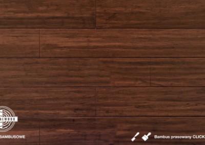 bambus prasowany click brownbear lakierowany dłutowany