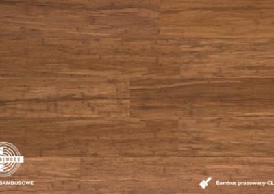 bambus prasowany click karbon lakierowany