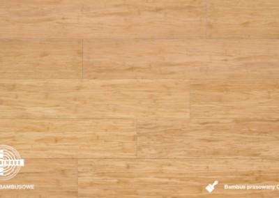 bambus prasowany click natur lakierowany
