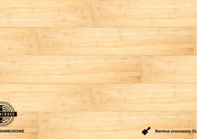 bambus prasowany click savana lakierowany dłutowany
