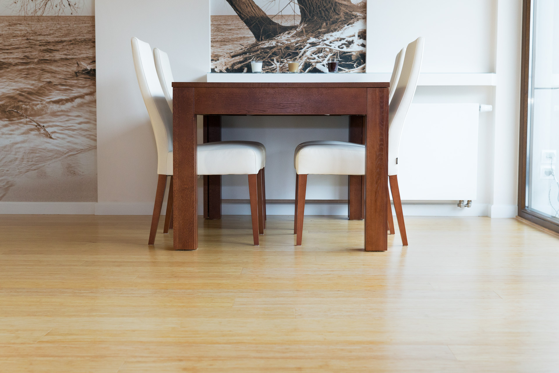 Deska lakierowana – Bambus prasowany naturalny