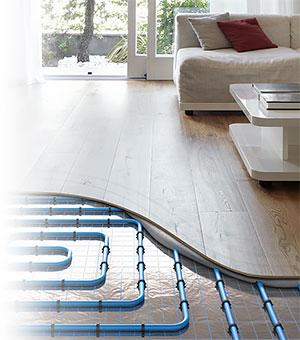 Drewniana podłoga na ogrzewanie podłogowe - LAMBDAfloor